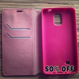 Accessories - 🎁 PINK SAMSUNG GALAXY NOTE 4 PHONE CASE - 50% OFF